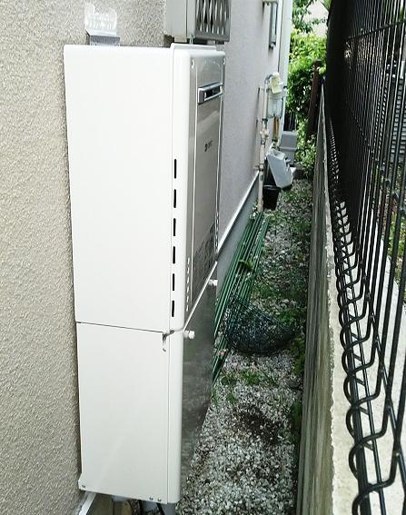 大阪府豊中市K様邸ノーリツガス給湯器GT-2460SAWX-1 BL