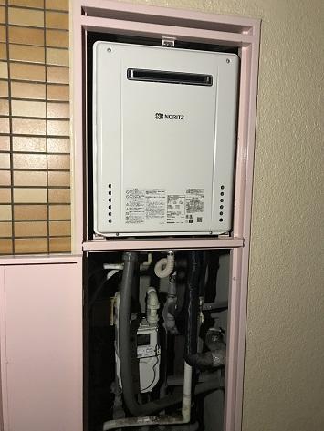 大阪府大阪市M様邸ノーリツガス給湯器GT-1660SAWX-1 BL